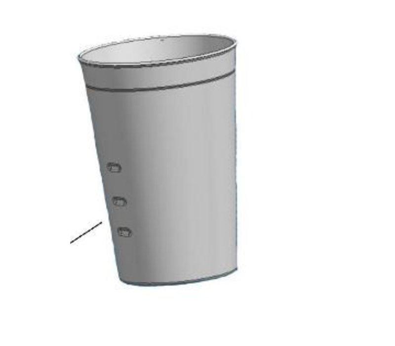 Bartscher Extra schenkbeker voor de Barmixer / Milkshaker - Basic - 0,7 liter