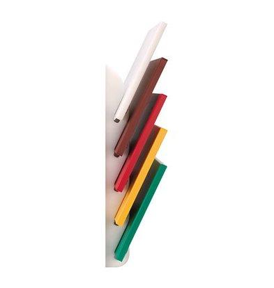 Emga Standaard voor 5 snijplanken - HDPE 500 - wit - wandmodel