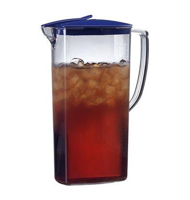 Emga jug | 2 Liter | polycarbonate | Automatically Closing Lid | height 27cm