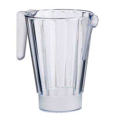 Emga Schenkkan | 1 Liter | Polycarbonaat | Stapelbaar | Ø125x(H)175mm