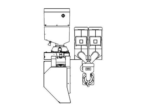 Animo Optibean 3 XL Touch   Koffiebonen   2 Canisters   Beschikbaar in 3 Kleuren