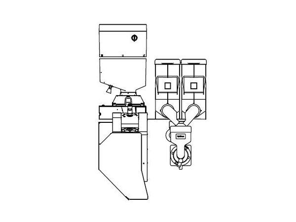 Animo Optibean 3 XL NG   Koffiebonen   2 Canisters   Beschikbaar in 3 Kleuren