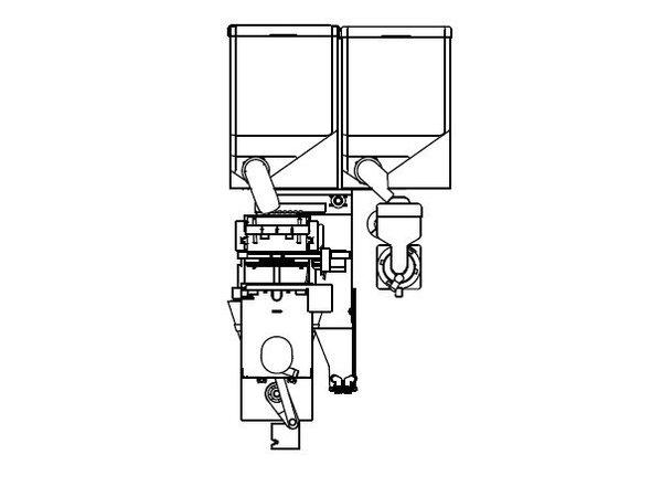 Animo Optifresh 2 NG | Gemalen Koffiebonen | 1+1 Canister | Beschikbaar in 3 Kleuren