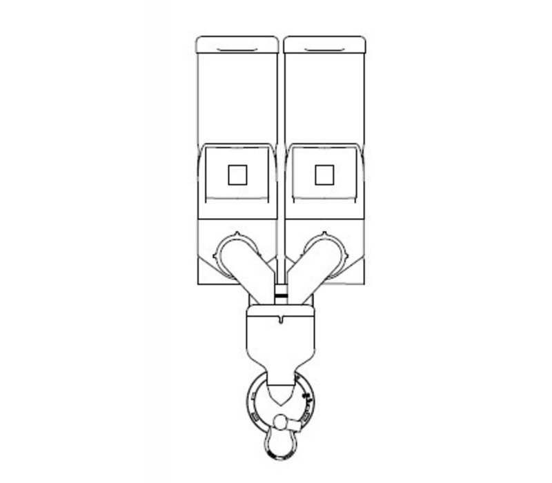Animo Optivend 21s NG | Oploskoffie | 2 Canisters | Beschikbaar in 3 Kleuren