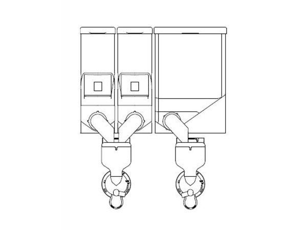 Animo Optivend 32 NG | Oploskoffie | 2+1 Canisters | Beschikbaar in 3 Kleuren