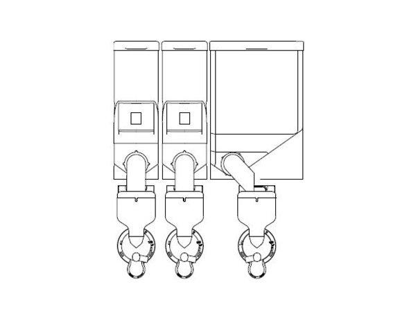 Animo Optivend 33 NG | Oploskoffie | 2+1 Canisters | Beschikbaar in 3 Kleuren