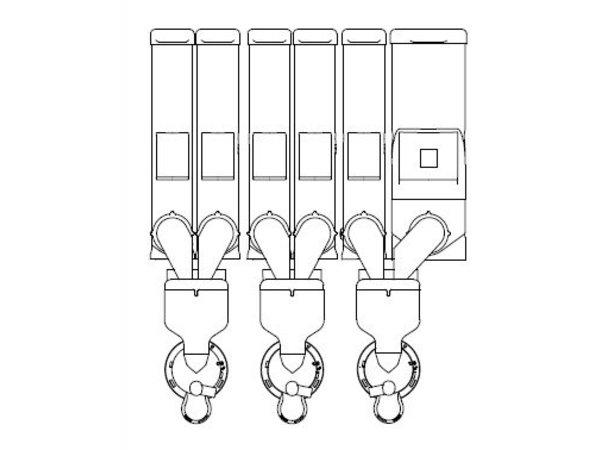 Animo Optivend 63 NG | Oploskoffie | 5+1 Canisters | Beschikbaar in 3 Kleuren
