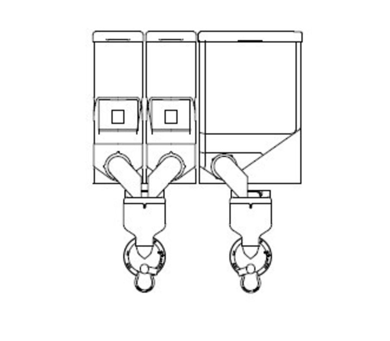 Animo Optivend 32 TS NG | Oploskoffie | 2+1 Canisters | Beschikbaar in 3 Kleuren