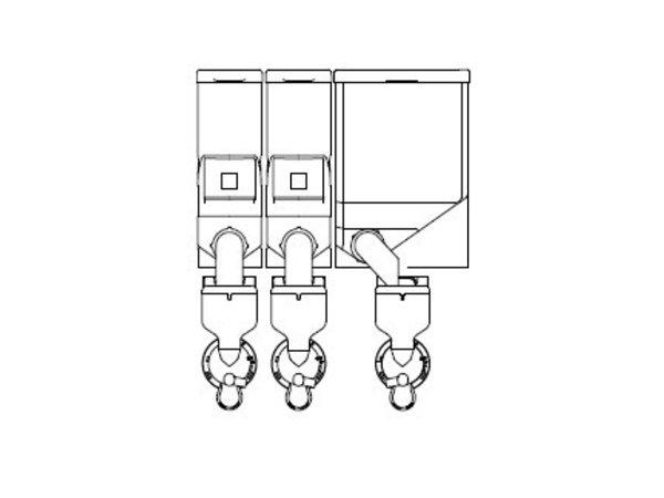 Animo Optivend 33 TS NG | Oploskoffie | 2+1 Canisters | Beschikbaar in 3 Kleuren