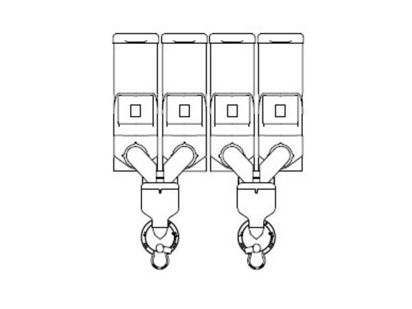 Animo Optivend 42 TS NG | Oploskoffie | 4 Canisters | Beschikbaar in 3 Kleuren