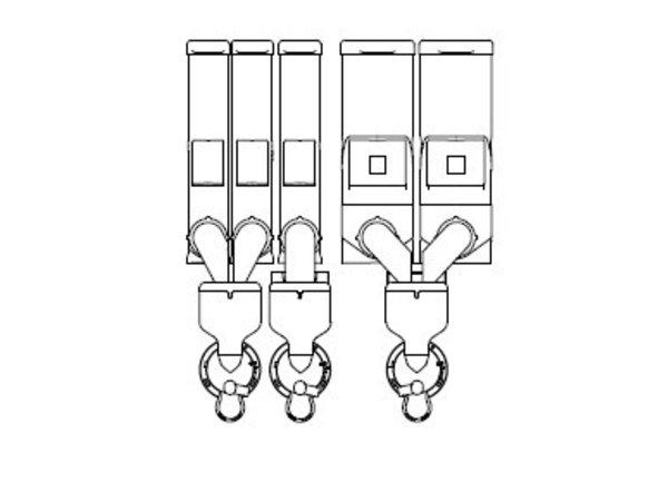 Animo Optivend 53 TS NG | Oploskoffie | 3+2 Canisters | Beschikbaar in 3 Kleuren