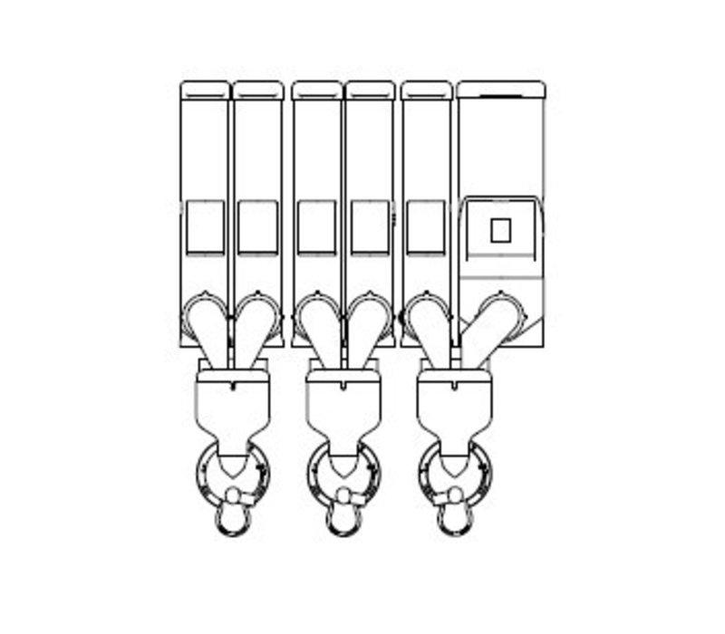 Animo Optivend 63 TS NG | Oploskoffie | 5+1 Canisters | Beschikbaar in 3 Kleuren