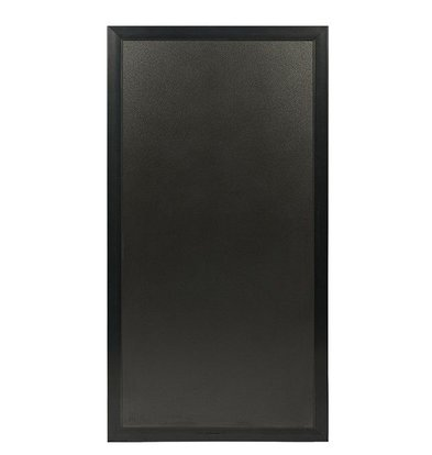 Securit Universeel Multi-krijtbord Zwart | Voor Stoep- of MuurBord | 550x1150(h)mm