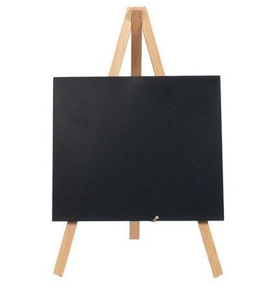 Securit Tafelkrijtbord Mini Beuken | Driepoot | Incl. Krijtstift | 240x150cm