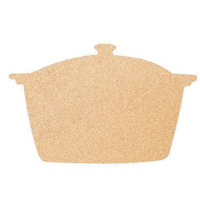 Securit Cork Silhouette PAN | Incl. Chalkstick, Adhesive tape and Pins | 300x450mm