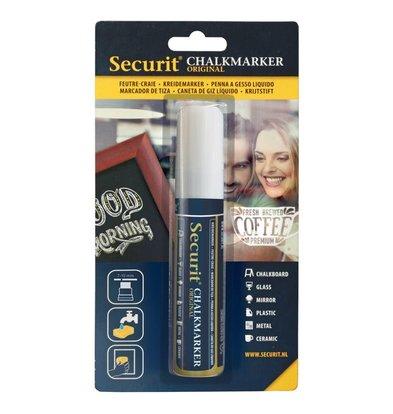 Securit Dikke Krijtstift | Wit | 7-15mm