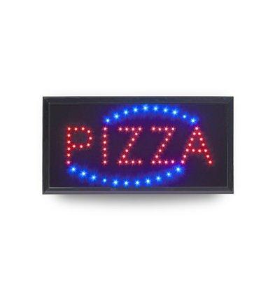 Securit PIZZA LED Board |475x240mm | Incl. Adapter en 130cm Kabel