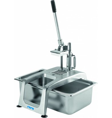 Saro Patats cutter with lever | 8x8mm | 280x512x735 (h) mm