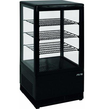Saro Cooling Vitamin 70L Black | 3 Timetables | 430x380x880 (h) mm
