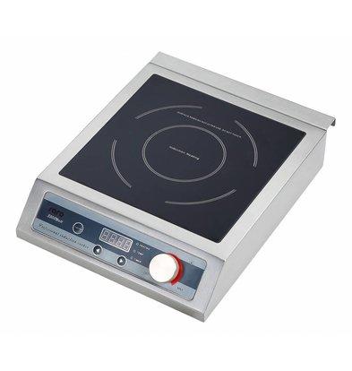 Saro Inductie Kookplaat 3,5kW | Ø120-260mm | 327x420x98(h)mm