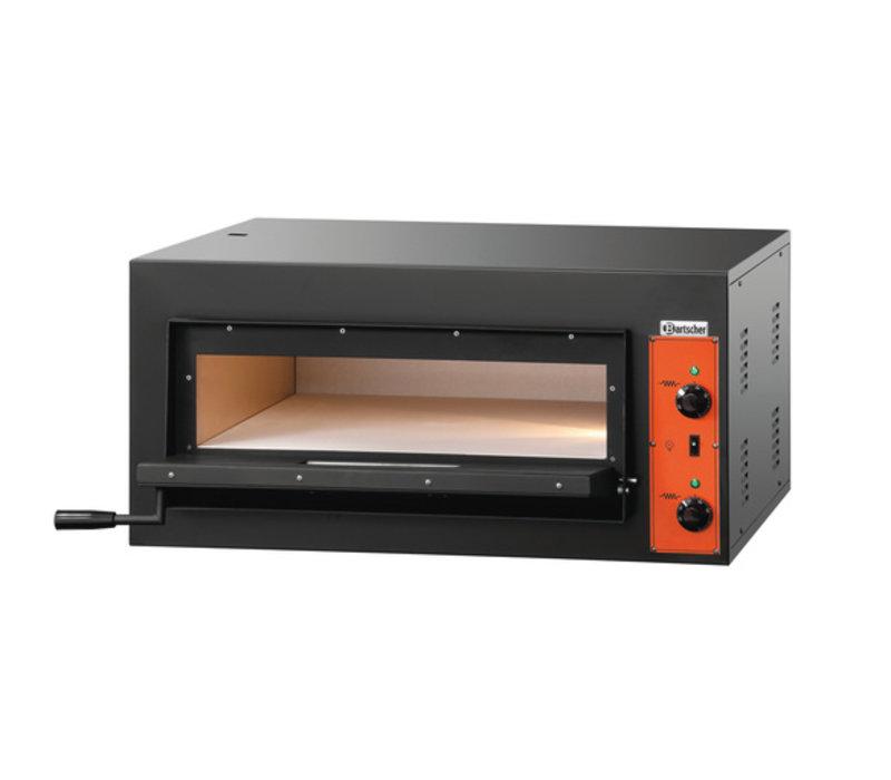 Bartscher Pizza Oven Enkel Elektrisch | 4 Pizza's 30cm | 400V | 4,2kW | 890x860x(H)430mm