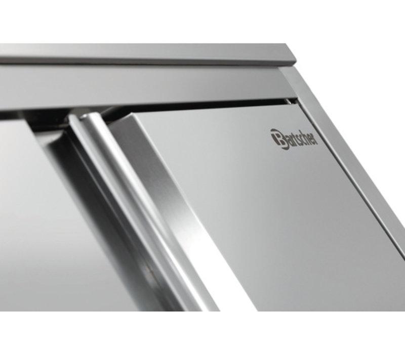 Bartscher Servieskast RVS met 3 Draagplanken - 800x600x2000mm