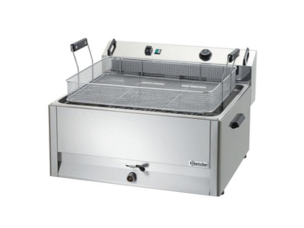 Bartscher Friteuse | Elektrisch | Bakkerij Vis en Oliebollen | 30 liter | 400V | 15kW | 660x650x(h)410mm