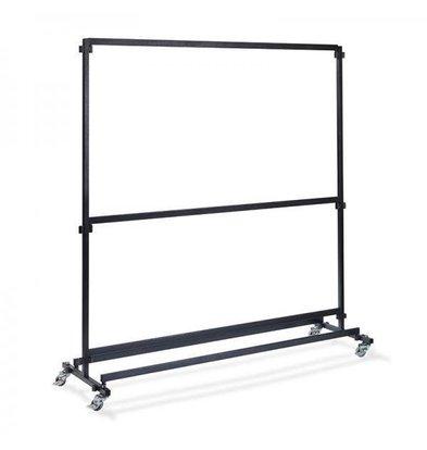 XXLselect Garderoberek voor Bar 2m | Zonder Haakjes | 1920x600x2000(h)mm