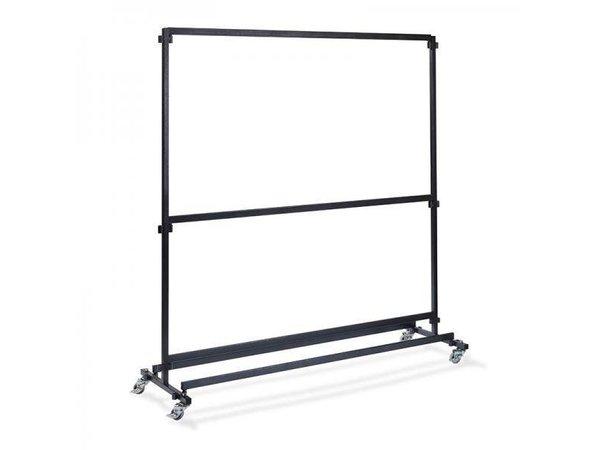XXLselect Garderoberek voor Bar 2m   Zonder Haakjes   1920x600x2000(h)mm