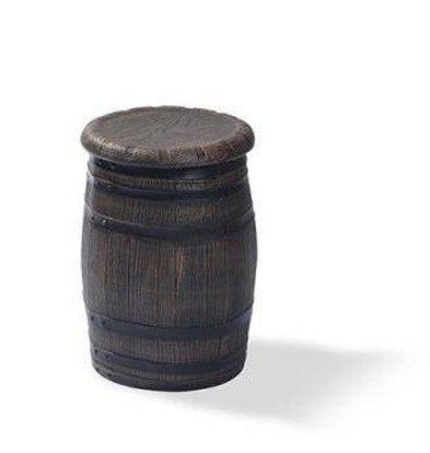 XXLselect Barkruk Barrel Laag | Ø400x550(h)mm | Per 4 Stuks