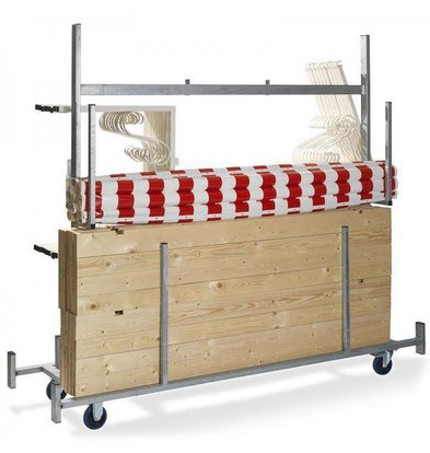 XXLselect Trolley for Market Stall | 720x2415x1980 (h) mm