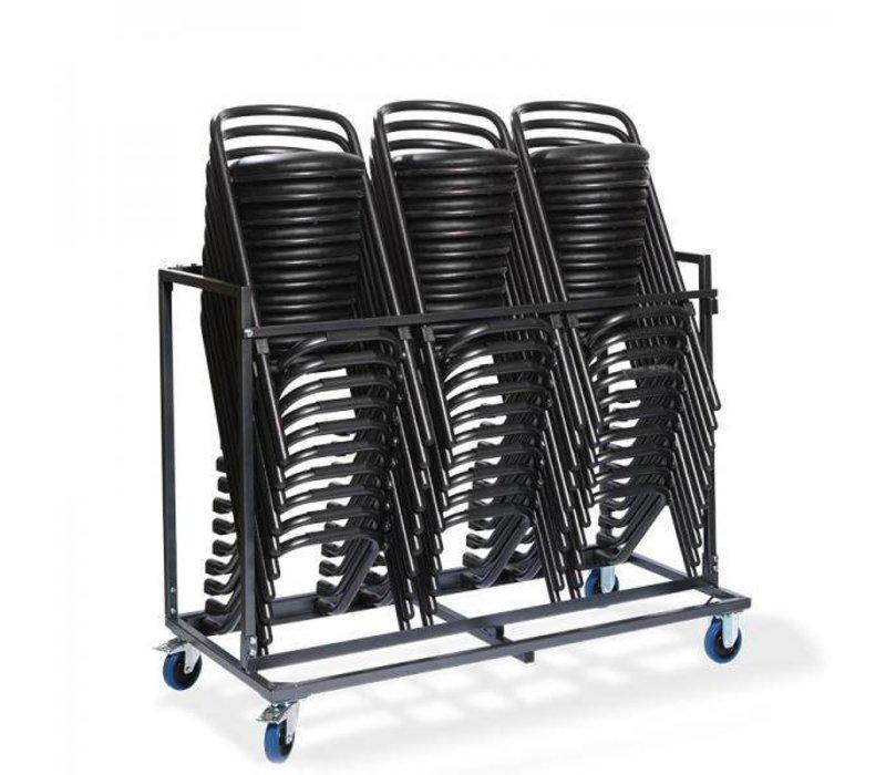 XXLselect Trolley voor Stapelbare Barkruk (30pcs) | 153x75x130(h)cm