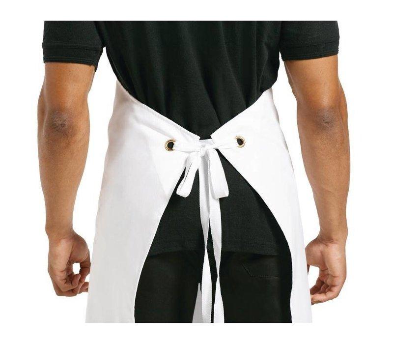 Whites Chefs Clothing Whites halterschort wit XL
