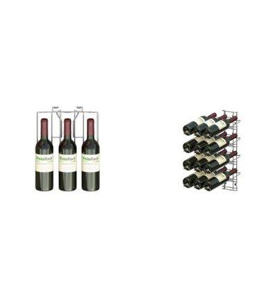 XXLselect WijnFlessenrek Presentation 12 Bottles - 4 levels - 75cl