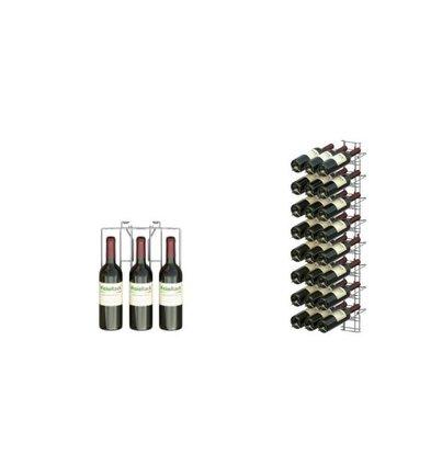 XXLselect WijnFlessenrek Presentatie 24 Flessen - 8 niveaus - 75cl