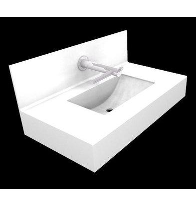XXLselect Optie: Wastafel Swing | Speciaal voor DYSON Tap Handdrogers | Offerte op Maat