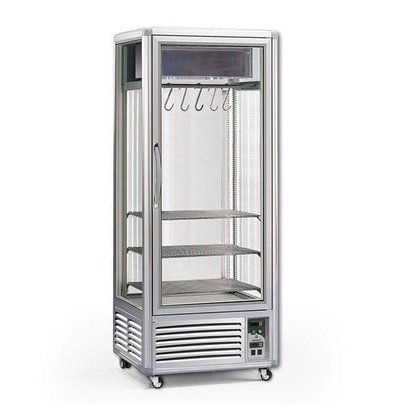 XXLselect Maturation Closet / Dry Aged Beef - 550 Liter - 80x73x (h) 201cm - With 2 Meat Ones