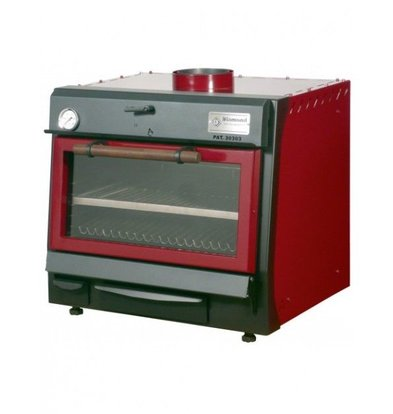 Diamond Houtskool Oven - BBQ   GN1/1   60kg/uur   706x613(925)xh690mm