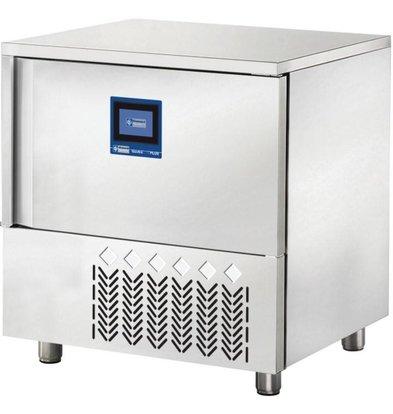 Diamond Blast Chiller/ Snelkoeler/ Snelvriezer - 5 x 1/1 GN - Touchscreen - 810x870xh850mm