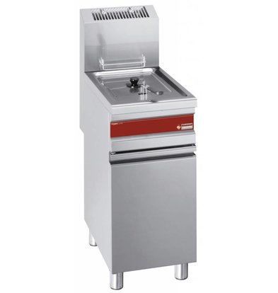 Diamond fryer | electric | 15 liter | With Substructure | 11 kW | 375x650x (h) 845-1010mm