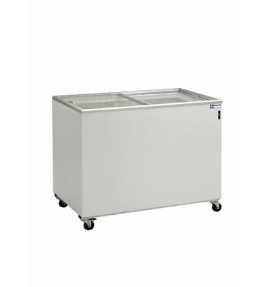 Diamond Freezer Showcase - 300 Liter - with sliding glass lid - 102x64x (h) 88cm