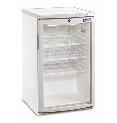 Diamond Refrigerator - 110 Liter - glass door - 50x56x (h) 85cm