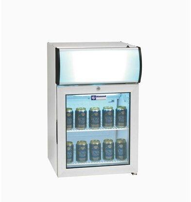 Diamond Refrigerator - 60 Liter - two grids - with light - 48x45x (h) 72cm