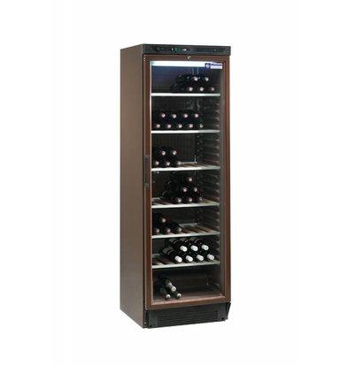Diamond Wine Climate Cabinet - 380 Liter - six grids - Interior - 505x462x (H) 1555 mm