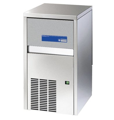 Diamond Ice machine 20kg / 24 hours - Storage 4kg - Full cubes - Made in Europe