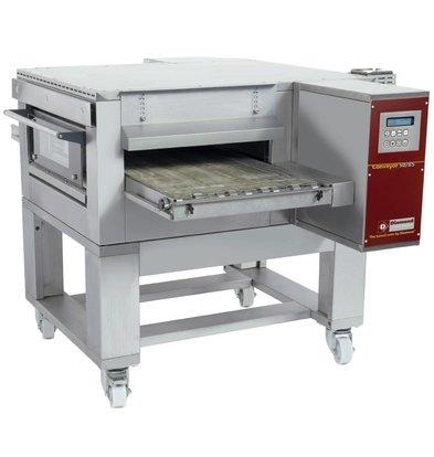 Diamond Doorloop Oven/Tunnel Pizza Oven | Breedte 500mm | 400V | 1260x1750xh490/1070mm