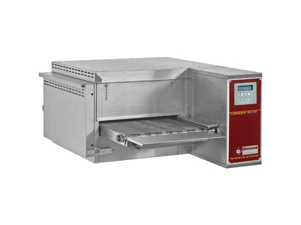 Diamond Doorloop Oven/Tunnel Pizza Oven Gas | Breedte 400mm | 1030x1300xh440/1060mm