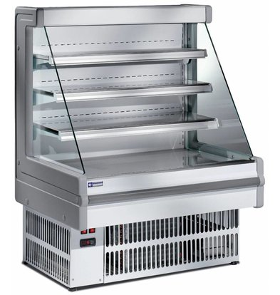 Diamond Refrigerated display - four levels - for self - 100x75x129cm