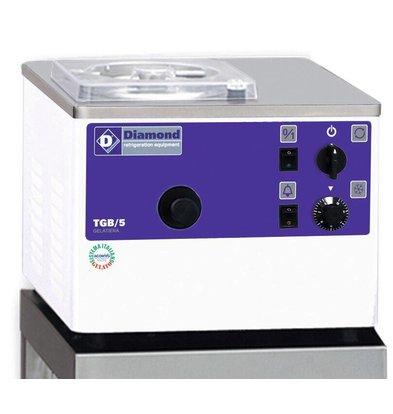 Diamond Ice Machine - 5liter / hour - water condenser - tabletop