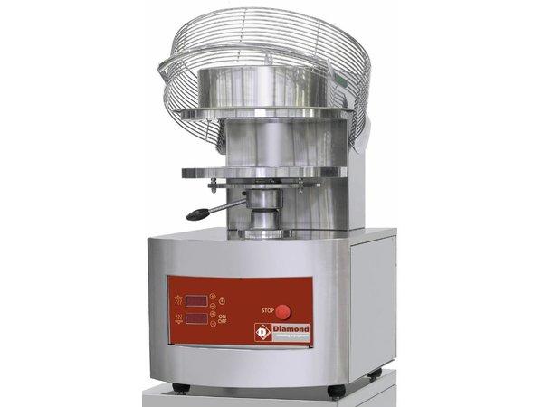 Diamond Pizza Grain crusher / pizza Form | 350 mm | 3,8 Kw | 500x610x (H) 770mm